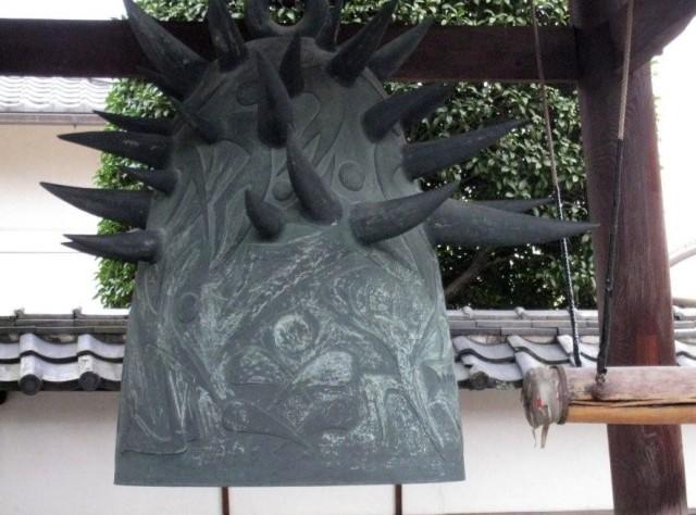 北区久国寺梵鐘・岡本太郎作